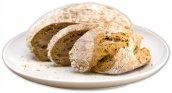 frisch gebackenes Brot nach hauseigenem Rezept