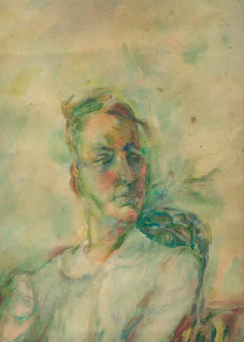 Porträt Hilde Weiße, 1966