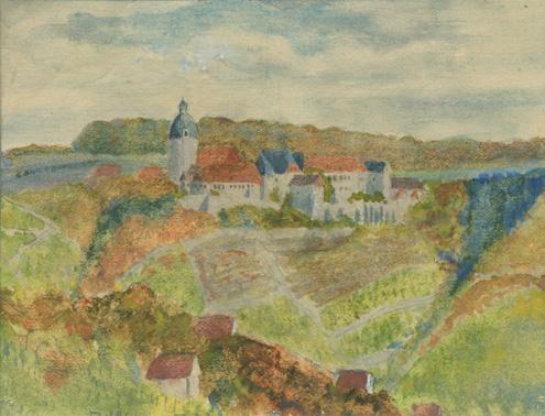 Die Neuenburg, 1922